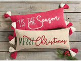 Tis'The Season Dhurrie Pillow