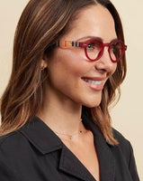 Style Sixteen Red Reading Glasses