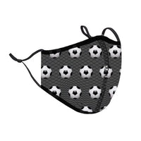 Soccer Fashion Face Mask Small Ages 3-7