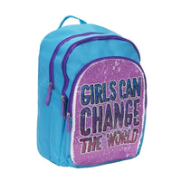 Girls Can Change The World Backpack
