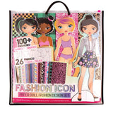 FASHION ICON PAPER DOLL DESIGN SET