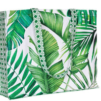 Palm Breeze Cotton Tote Bag