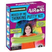 Glow In The Dark Mixed By Me Thinking Putty Kit by Crazy Aaron