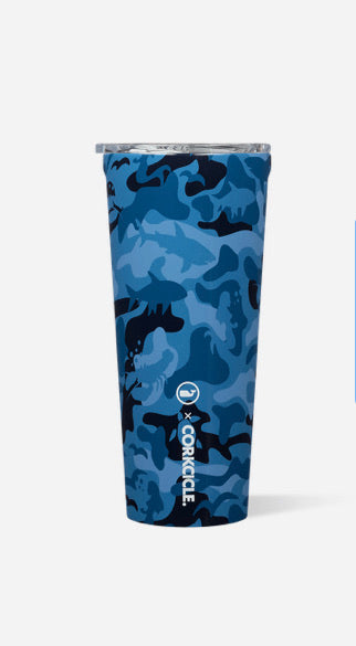 Vineyard Vines Tumbler  Blue Camo 24 oz