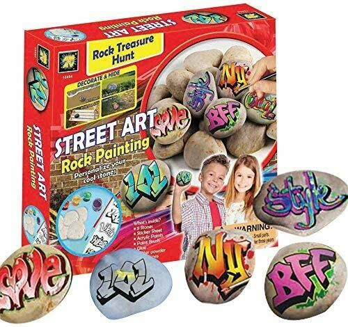Graffiti Rock Painting Set