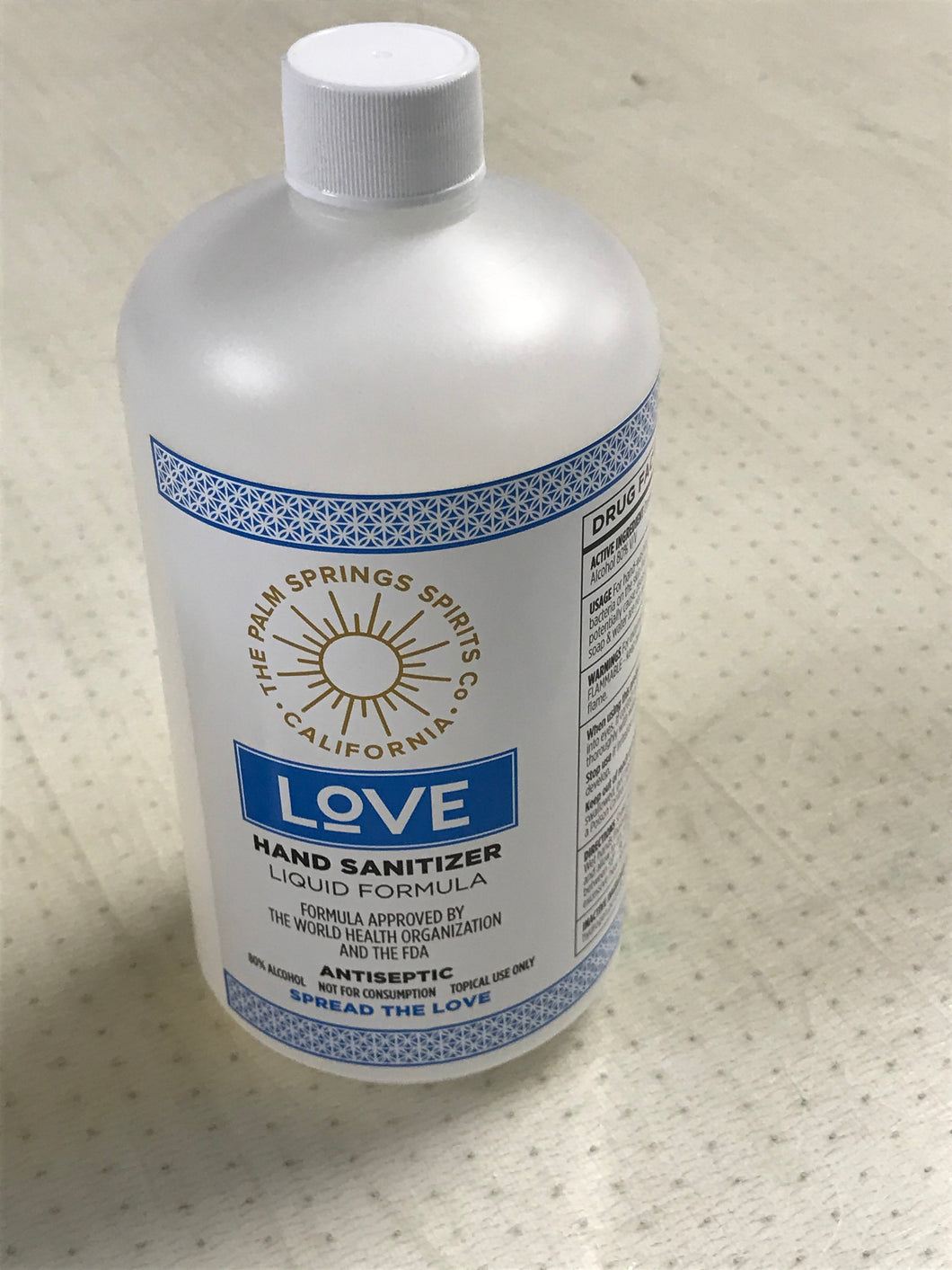 Hand Sanitizer (32 ounce size)