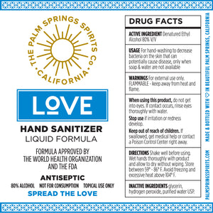 Hand Sanitizer (4 ounce size/mist sprayer)