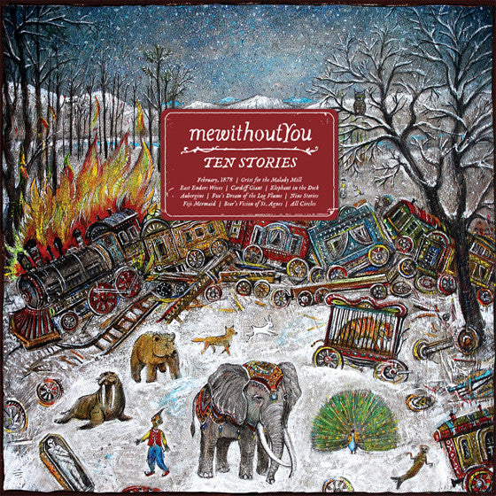 "mewithoutYou ""Ten Stories"" CD"