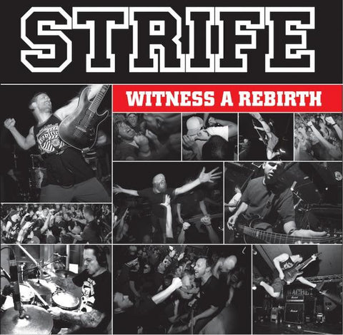 "Strife ""Witness A Rebirth"" LP"