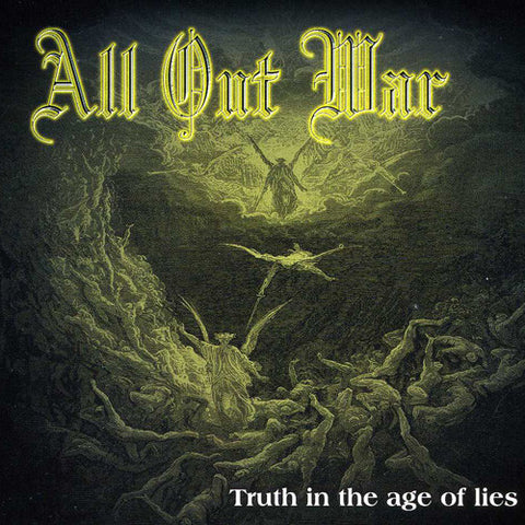 "All Out War ""Truth in the Age of Lies"" LP"