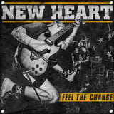 "New Heart ""Feel The Change"" LP + Long Sleeve + FLAG (PRE-ORDER)"