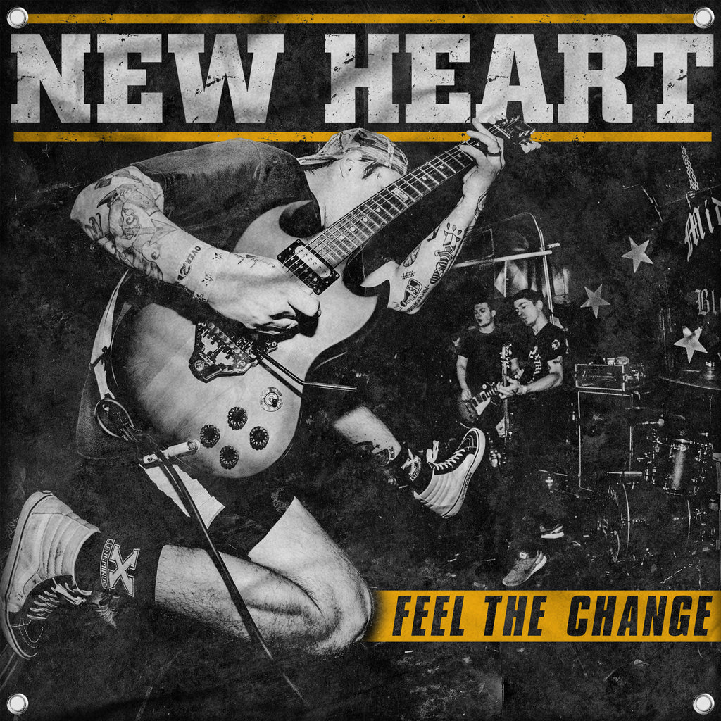 "New Heart ""Feel The Change"" FLAG"