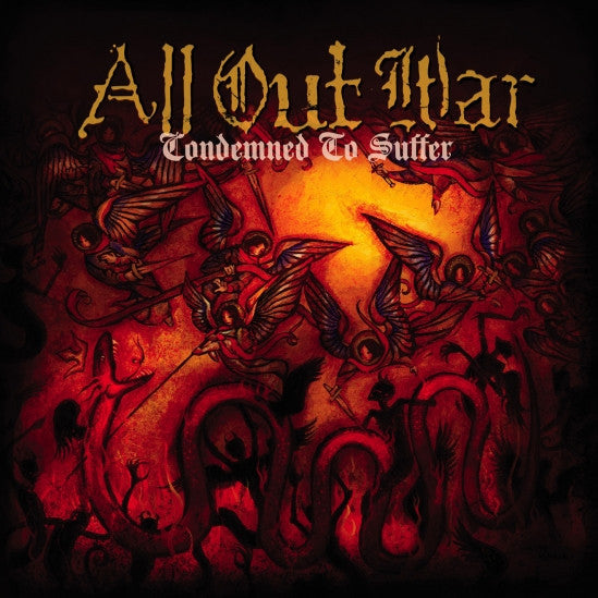 "All Out War ""Condemned To Suffer"" CD"