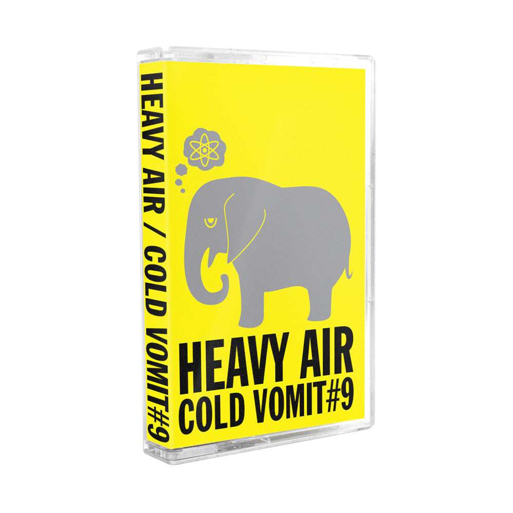 "Heavy Air ""Cold Vomit #9"" Tape"