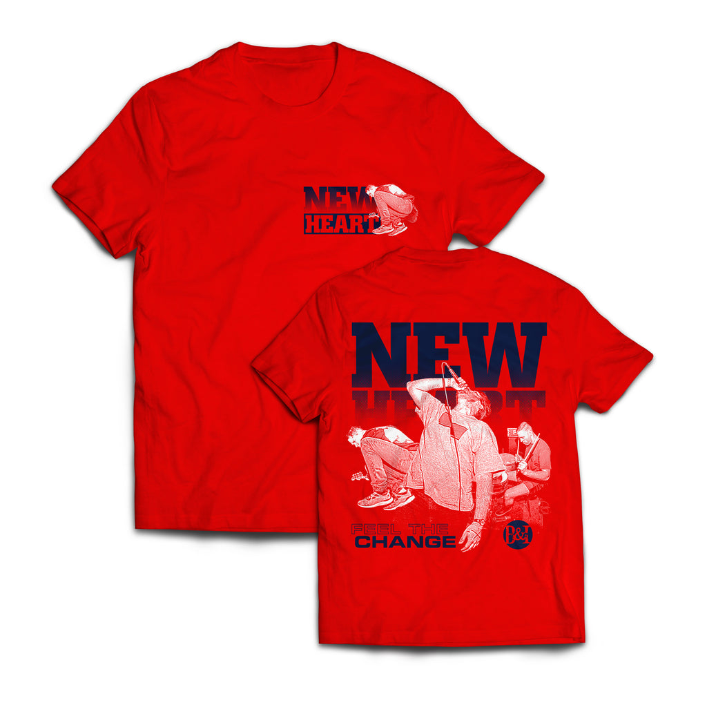 "New Heart ""Feel The Change"" Shirt"