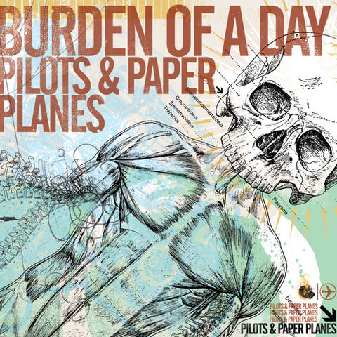 "Burden Of A Day ""Pilots & Paper Planes"" CD"