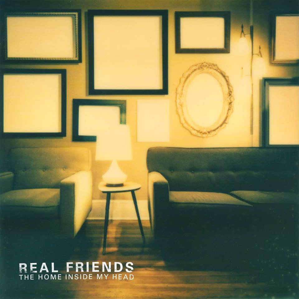 "Real Friends ""The Home Inside My Head"" LP"