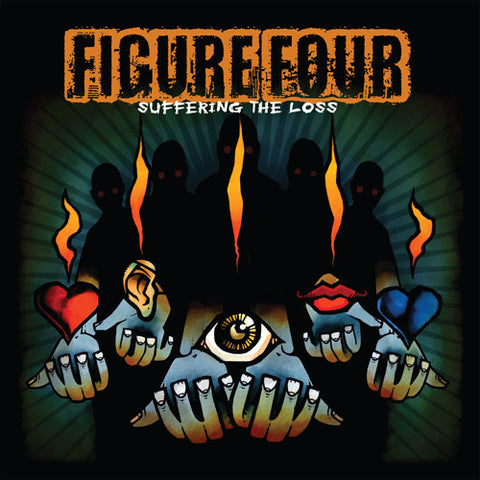 "Figure Four ""Suffering The Loss"" Blue Vinyl LP"