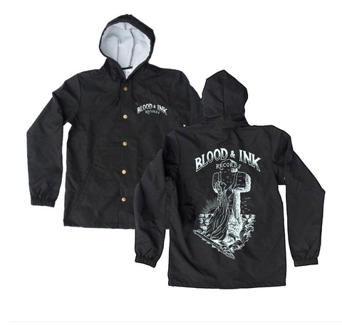 "Blood & Ink Records ""Rock of Ages"" Windbreaker"