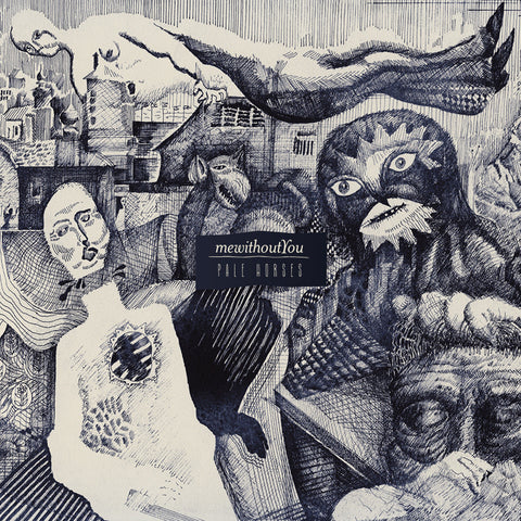 "mewithoutYou ""Pale Horses"" LP"