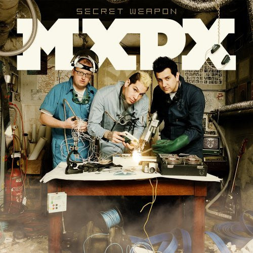 "MxPx ""Secret Weapon"" CD"