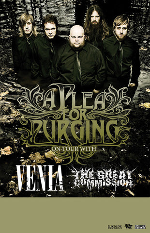Venia/A Plea For Purging Tour Poster