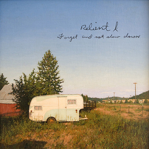 "Relient K ""Forget And Not Slow Down"" CD"
