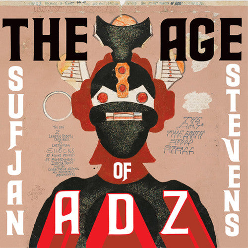 "Sufjan Stevens ""The Age of Adz"" CD"