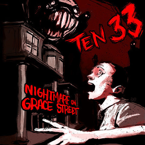 "Ten 33 ""Nightmare on Grace Street"" CD"