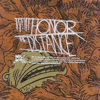 "With Honor/The Distance ""Split"" CD"