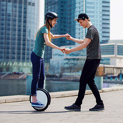 Electric Unicycle Lesson