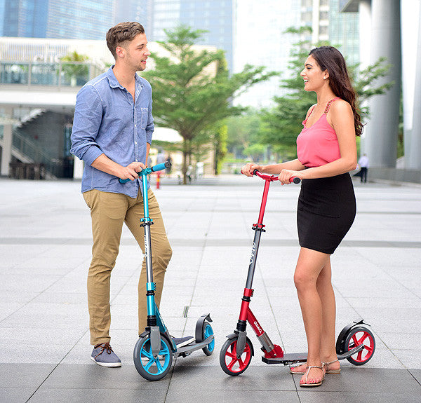 Glideco Cruiser kick scooter for adults