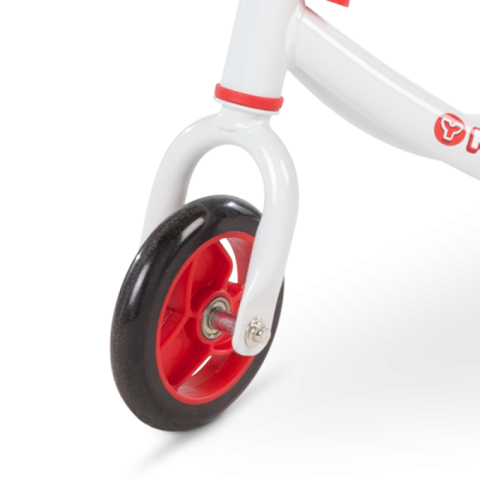 Yvolution Fliker J2 wave motion kick scooter front wheel