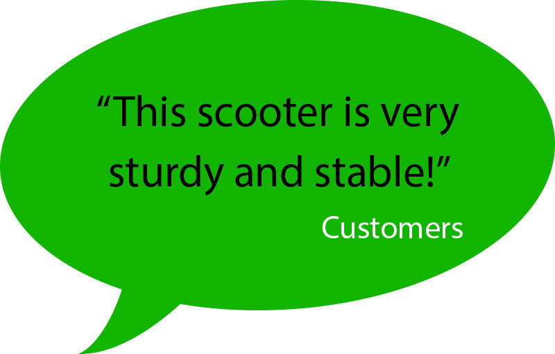 customer feedback for aest a85 kick scooter