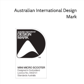 mini micro kick scooter won the australian award