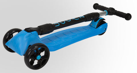 zycom zinger 3 wheel kick scooter can be easily folded is foldable