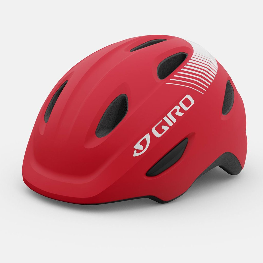 Giro Scamp Bicycle Helmet for kids, Red