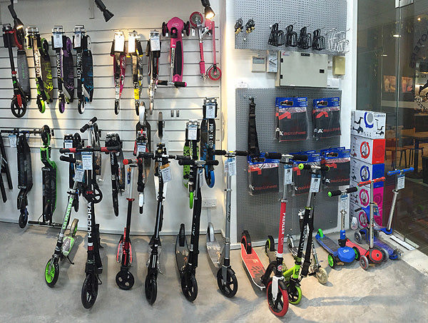 Decks & Scooters Specialist Kick Scooter Store