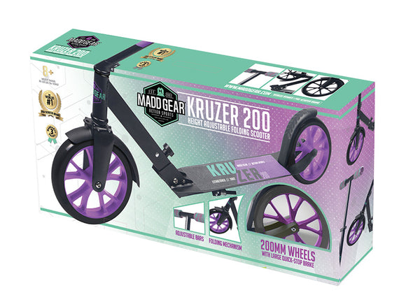 madd gear pro kruzer kick scooter box