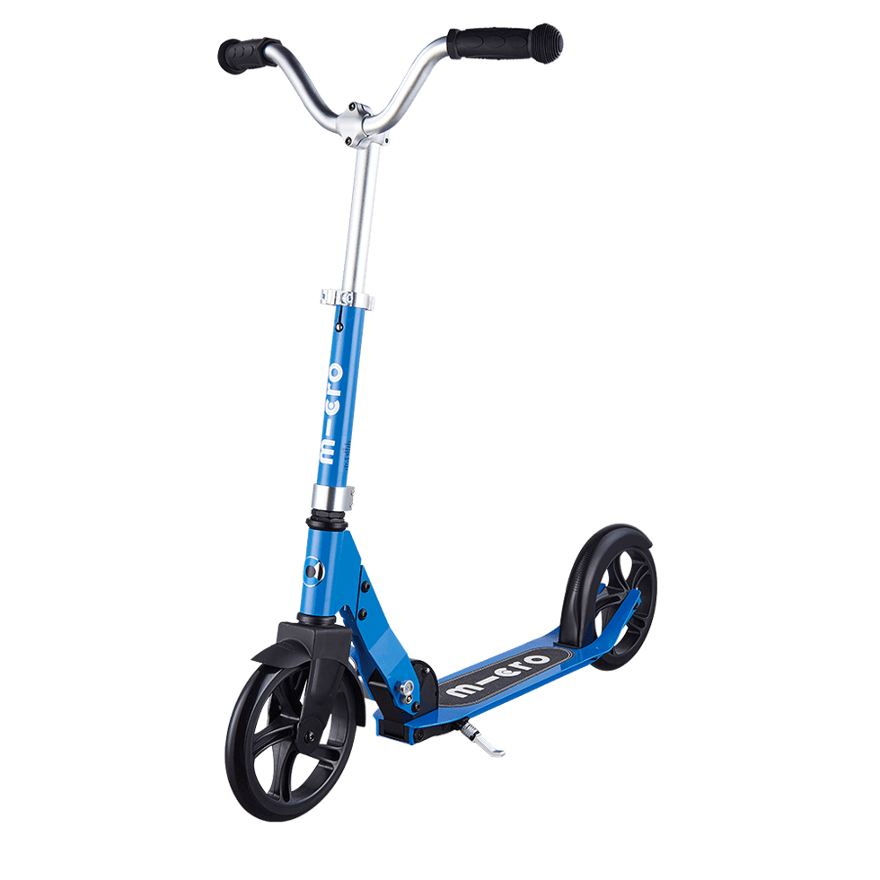 micro cruiser kick scooter for kids blue
