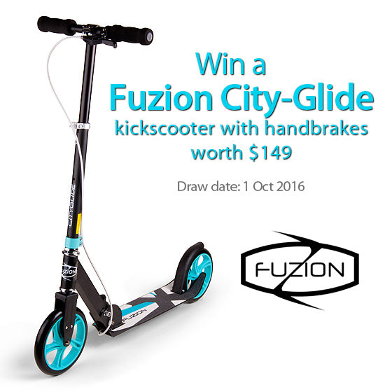 Win a kick scooter in Singapore lucky draw