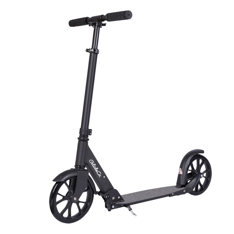 glideco citytourer 2020 kick scooter in black