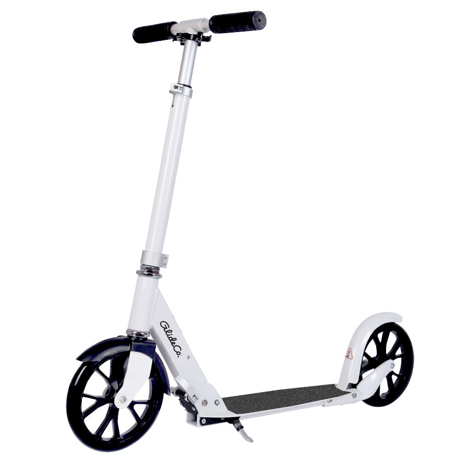 Glideco Citytourer 2020 kick scooter in white