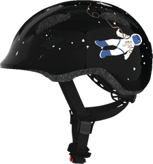 Abus Smiley Bicycle helmet for kids, Black Space, side view