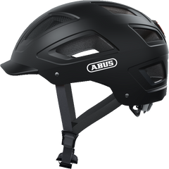 Abus Hyban 2.0 Urban Commuting bicycle helmet in Velvet Black