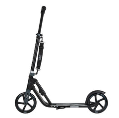 Hudora BigWheel 205 kick scooter Anthracite Black, side view