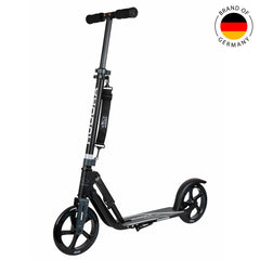 Hudora BigWheel 205 kick scooter Anthracite Black