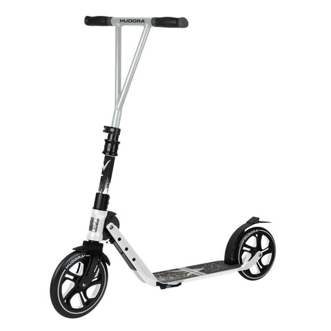Kick scooters with 230mm front wheels