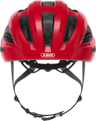 Abus Macator Helmet in Blaze Red, front view