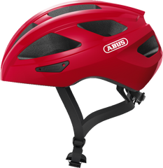 Abus Macator Helmet in Blaze Red, side view
